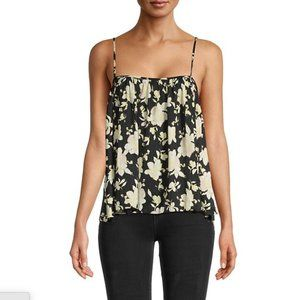 NWT FREE PEOPLE Hot Take Flower Printed Camisole M